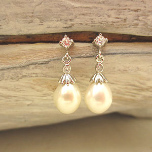 Embellished Freshwater Drop Pearls
