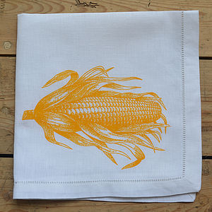 Sweetcorn Napkin - table linen