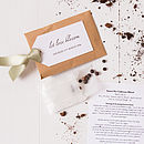 Seed Packet And Personalised Tag Favour