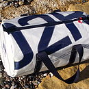 Medium Racing sail number kit bag
