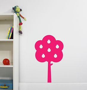 Berry Tree Wall Sticker