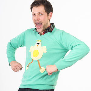 Easter Chick Jumper With Squeaky Tummy - jumpers & cardigans