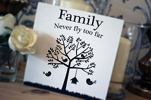 Family Tree And Birds Sign