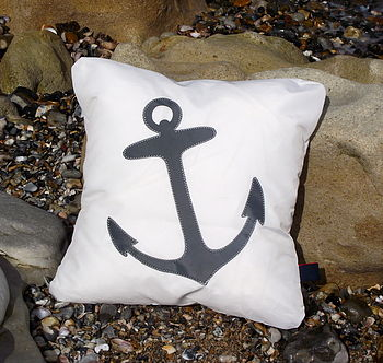 Anchor Sailcloth Cushion
