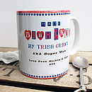 Personalised 'Made With Love' Mug