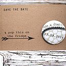 Badge Or Magnet Save The Date