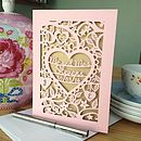 Candy Pink card with Gold