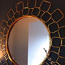 Gold Chain Link Mirror