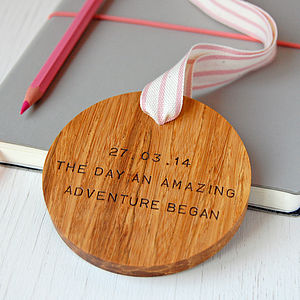 Personalised 'Amazing Adventure' Wooden Keepsake - shop by category