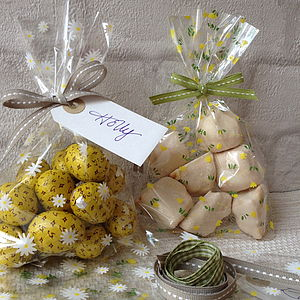 Spring Tulip Cellophane Gift Bag Set - view all easter