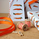 Matching Orange Ribbon Is Available