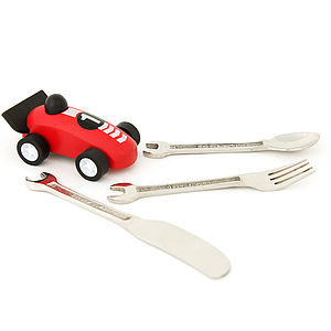 Children's Set Of Spanner Cutlery