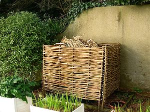 Hazel Compost Box