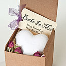 Cherry Scented Heart Bath Bombs