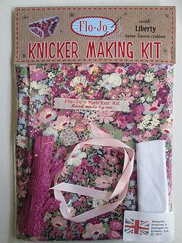 Liberty Print Knicker Making Kit