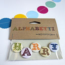 Alphabet Name Magnets