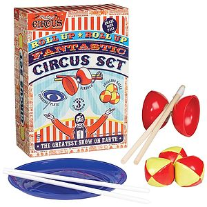 Circus Activity Set - Garden Games & Activities