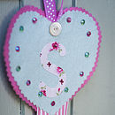 Personalised Hair Clip Tidy Kit