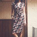 Cate Shirt Printed Dress