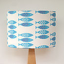 Newlyn Fish Lampshade