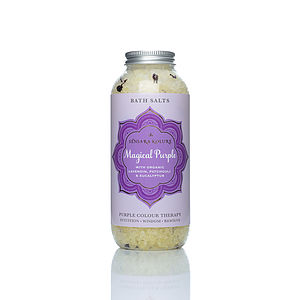 Magical Purple Bath Salts - bathroom