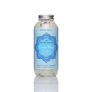 Ocean Blue Bath Salts - summer beauty & toiletries