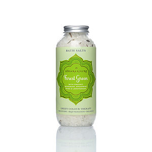 Forest Green Bath Salts - beauty gifts