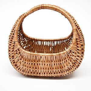 Wicker Basket Gondola - living room