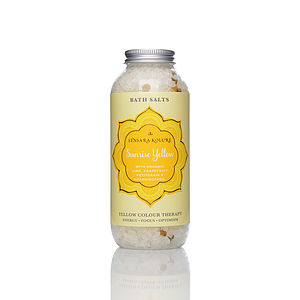 Sunrise Yellow Bath Salt