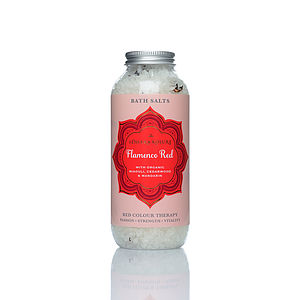 Flamenco Red Bath Salt - bath & body