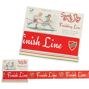 Sports Day Finishing Line Tape - traditional toys & games