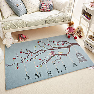 Personalised Playtime Rug - children's room accessories