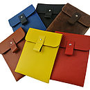 Leather Case For Kindle Various Colours