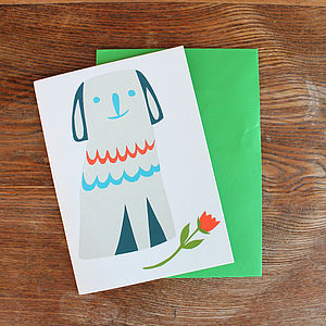 'Puppy Love' Card - anniversary cards