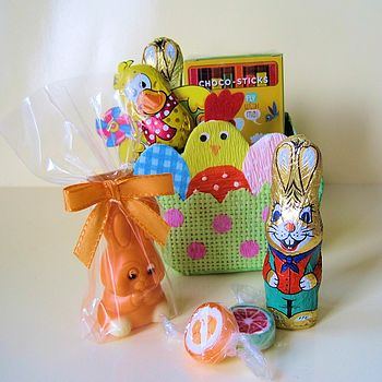 Easter Chick Bag Filled With Chocolates