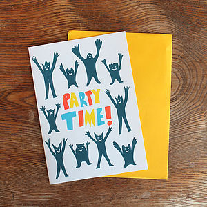 'Party Time' Card
