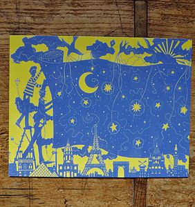 We Bring The Stars Out Postcard - art & pictures
