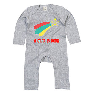 A Star Is Born Playsuit With Optional Giftset