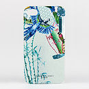 Blue Parrot iPhone Four Five 5S Se Samsung S4 Case