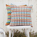 Dewdrop Knitted Lambswool Cushion