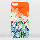 Jenny Collicott Orange Hummingbird Phone Case