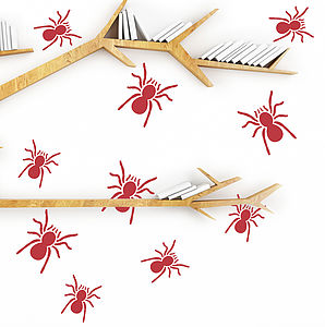 Tarantula Wall Stickers - home accessories