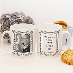 Personalised Photo Frame Mug - mugs