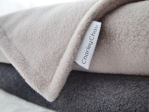 Luxury Double Fleece Blankets And Throws - decorative accessories