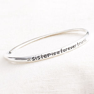 'A Sister Is A Forever Friend' Bracelet - view all sale items