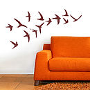Swallow Wall Sticker Set