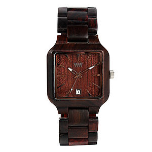 Metis Wooden Watch