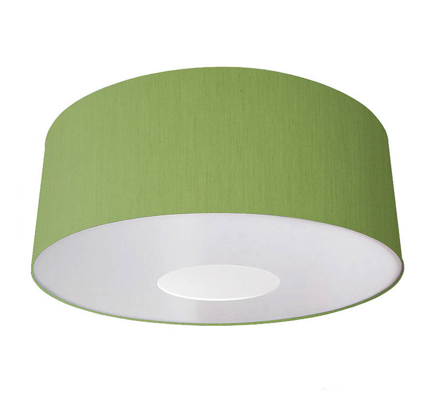 Oversize large ceiling pendant shade classic colours by quirk olive aloadofball Images