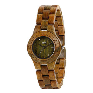 Wooden Moon Watch - men's jewellery