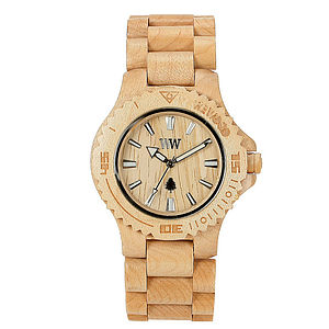 Wooden Date Watch - men's jewellery